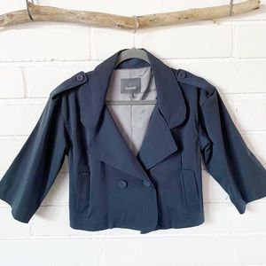 Desiderata Double-breasted cropped jacket sz 1